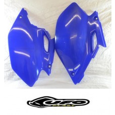 """BLOW-OUTS"" UFO SIDE PANELS YAMAHA WR250F (03-05) BLUE"