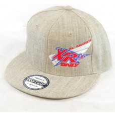 XRs Only Team Hat - Baseball Cap (Gray / White) 05