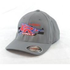 XRs Only Team Hat - Baseball Cap (Gray) 10  FLEXFIT