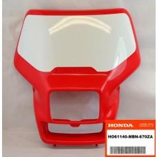 OEM Honda Number Plate, XR650R (00-07)