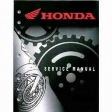 Honda OEM Factory Service Manual - Honda XR250R (84-87)