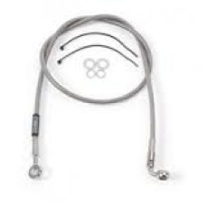 Russell Stainless Steel Braided Front Brake Line - Honda CRF250X (04-06) CRF450X (05-06)