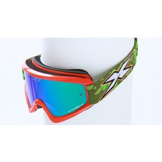 X BRAND LIMITED GOGGLES, Incognito Flo Orange