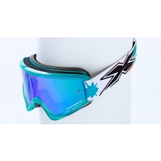 X BRAND LIMITED GOGGLES, Splat Transparent Cyan