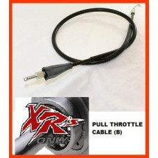 XRs Only Extended Throttle Cable - Honda XR650R (00-07) (2 Inches) PUSH
