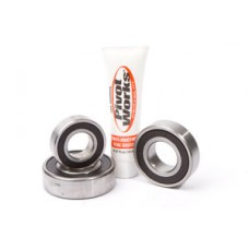 Pivot Works Rear Wheel Axle Carrier Bearing Kit - Kawasaki KLR650 (87-15) TENGAI BIKE (90-91)