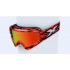 X BRAND SCATTER X / FADE GOX GOGGLES, Scatter X Red