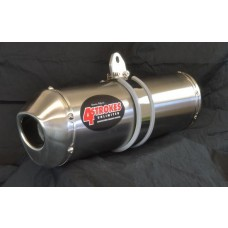 4 STROKES UNLIMITED UNIVERSAL 4-STROKE SLIP ON EXHAUST MUFFLER