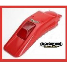 UFO Rear Fender, Red W/Tail Light XR250R / XR400R (96-UP)