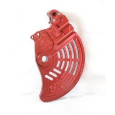 XRs Only Ultimate Shark Fin / Disc Guard - Honda XR250R (96-UP) / XR400R / XR600R / XR650L - RED