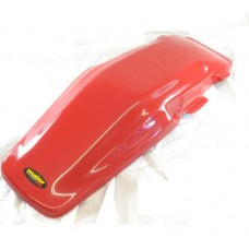 Maier USA Rear Fender Plastic - Honda XR250R (1981-1982) XR500R (1981-1982) Red (Dark)