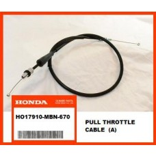 OEM Honda Throttle Cable (A) XR650R, (00-07) PULL