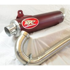"""Blow-Outs"" XRs Only Exhaust Pipe & Header - Honda TRX450R (ROUND)"