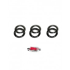 XRs Only Exhaust Pipe Power-Up Tip 6-Disk Replacement Pack
