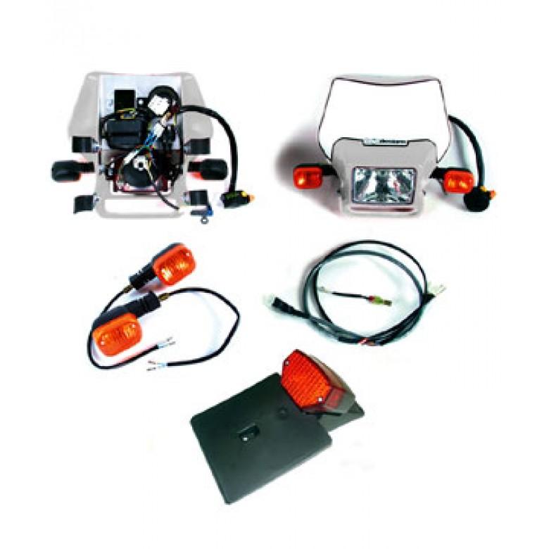 Baja Designs EZ Mount Kick Start Dual Sport Kit - Honda  XR600R, XR500R, XR400R, XR350R, XR250R, XR200R, CRF100, CRF80, XR100R, XR80R