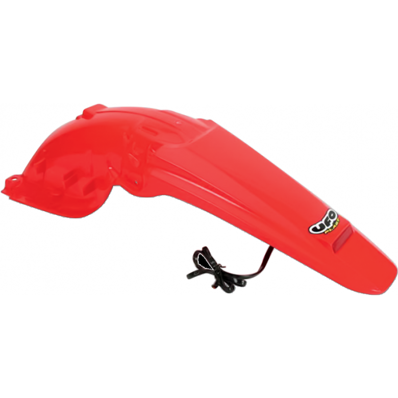 UFO Enduro Rear Fender - Honda CRF450X (05-15) CR RED  W/ Tail Light
