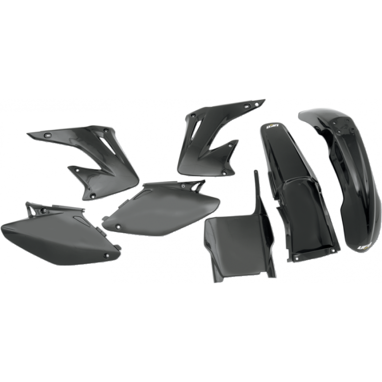 UFO PLASTIC BODY KITS , CR125R CR250R (05-07) BLACK