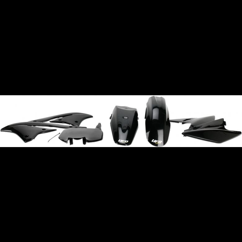 UFO PLASTIC BODY KITS , KX450F (2006) BLACK