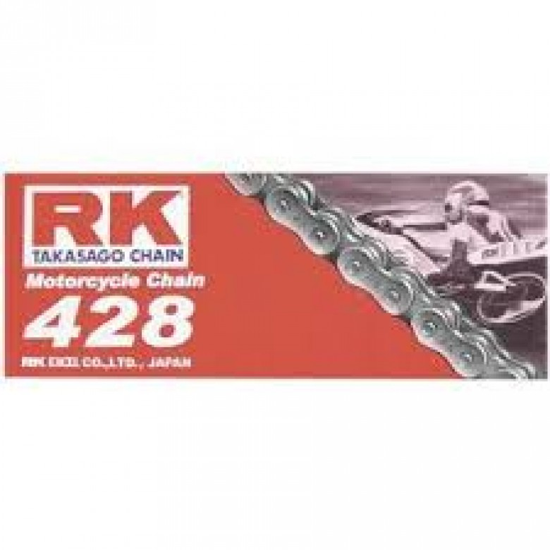 RK Racing Chains Standard (M) 428 Chain