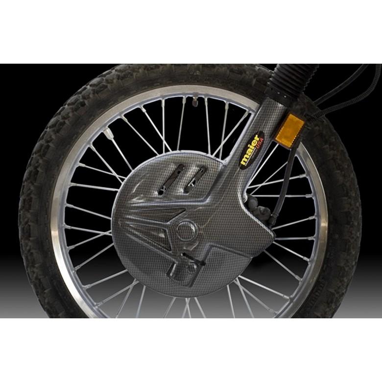 Maier USA Fork Disc Brake Guards - Kawasaki KLR650R (1987-2007)