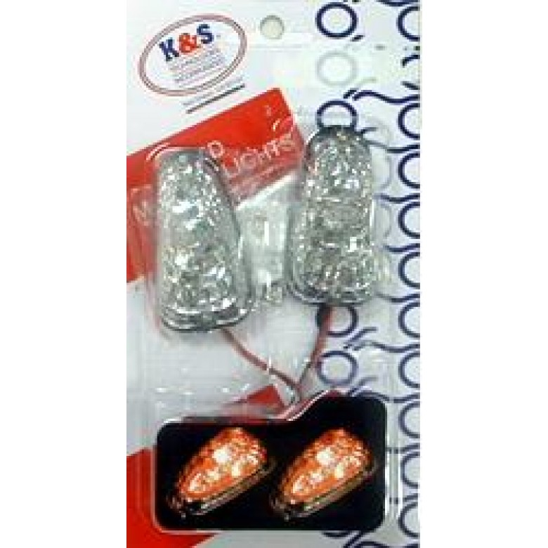 Baja Designs Dual Sport LED Mini Flush Mount DSK Turn Signals