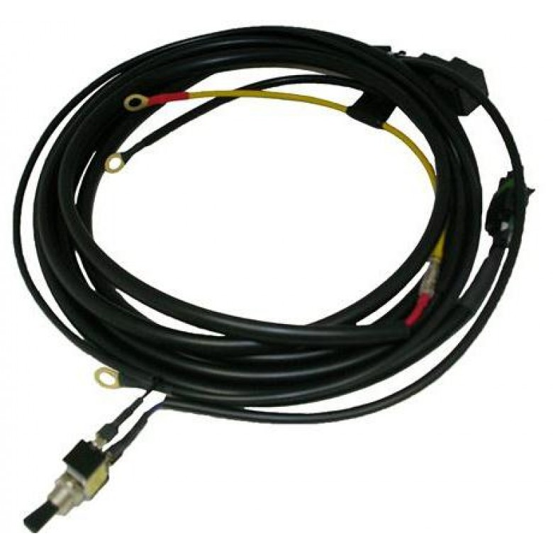 Baja Designs UTV Wiring Harness w/Mode-1 Bar max 325 watts w/Mode-1 Bar max 325 watts (Long Harness)