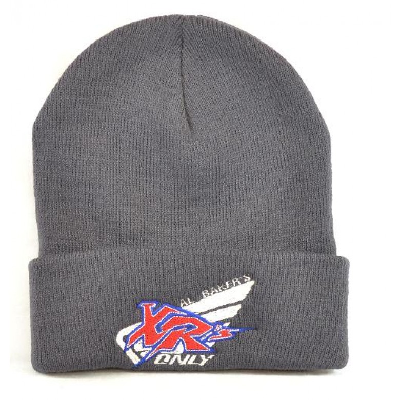 XRs Only Team Beanie Long (Charcoal) 05