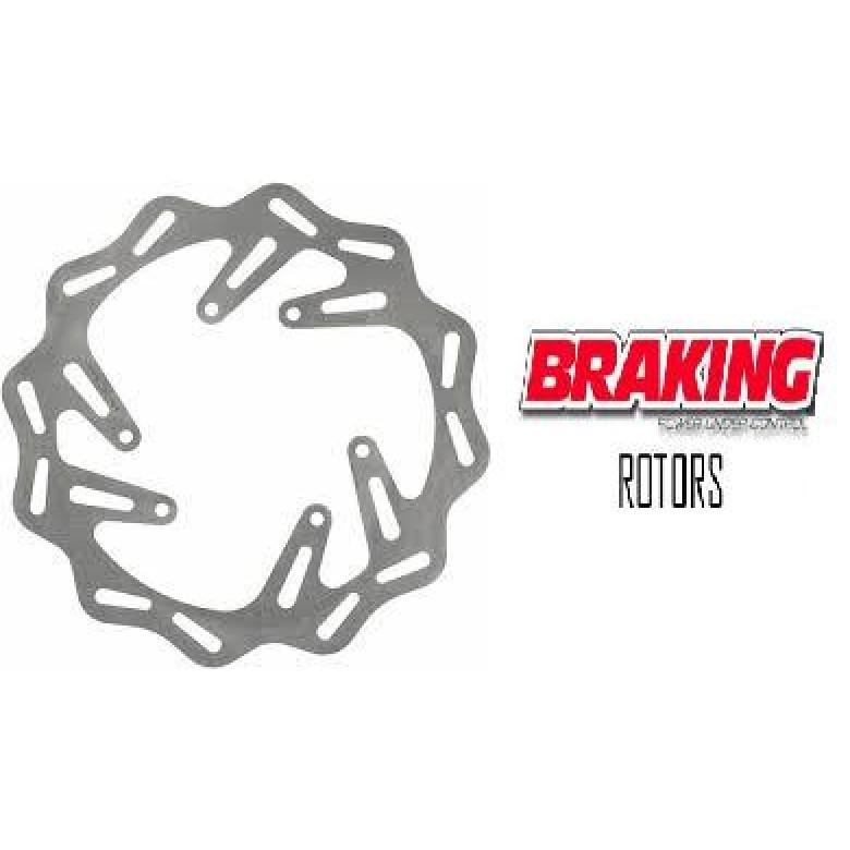 Braking PUC Front Rotor XR650R (All Yrs) XR600R (94-99) XR400R (95-04) XR250R (94-04) CRF230F (03-13)
