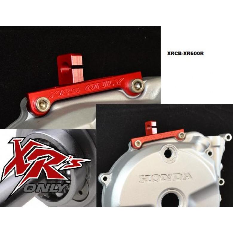 XRs Only Clutch Cable Bracket - Honda XR500R XR600R XL600 - RED