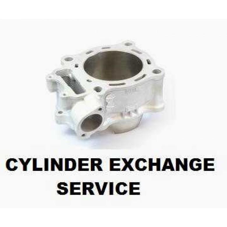 Service: CYLINDER EXCHANGE CRF250 R / X  (04-09)