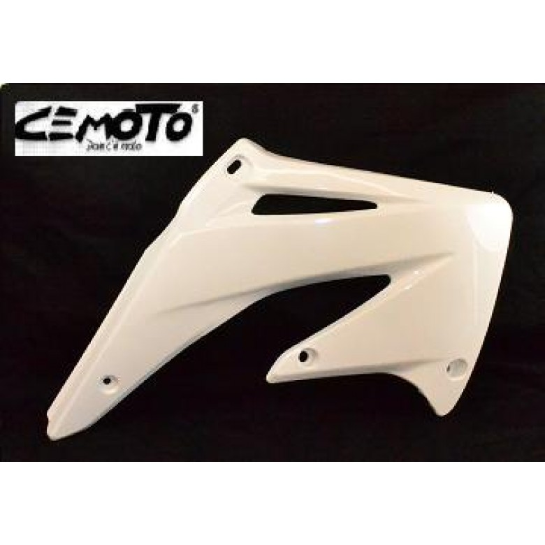 """BLOW-OUTS"" Cemoto Shrouds, CRF450R (02-04) White"
