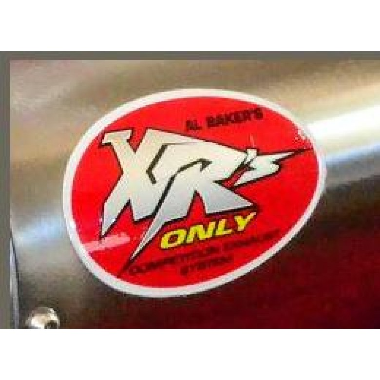 XRs Only Exhaust Graphic