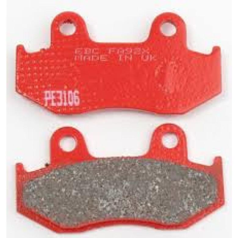 EBC Brakes Front Brake Pads - Honda XR250R (84-87)/ XL350R / XR350R (84-85)/ XR500R (83-84)/ XL600 (83-87)/ XR600R (85-88)