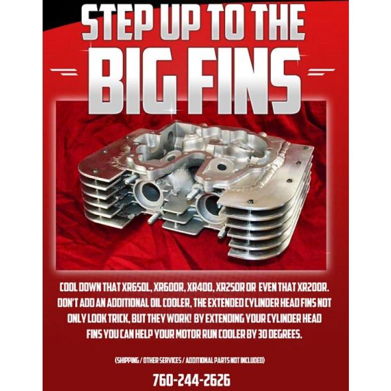 SHOP SERVICE: BIG FINS, XR200R, XR250R, XR350R, XR400R, XR500R, XR600R, & XR650L