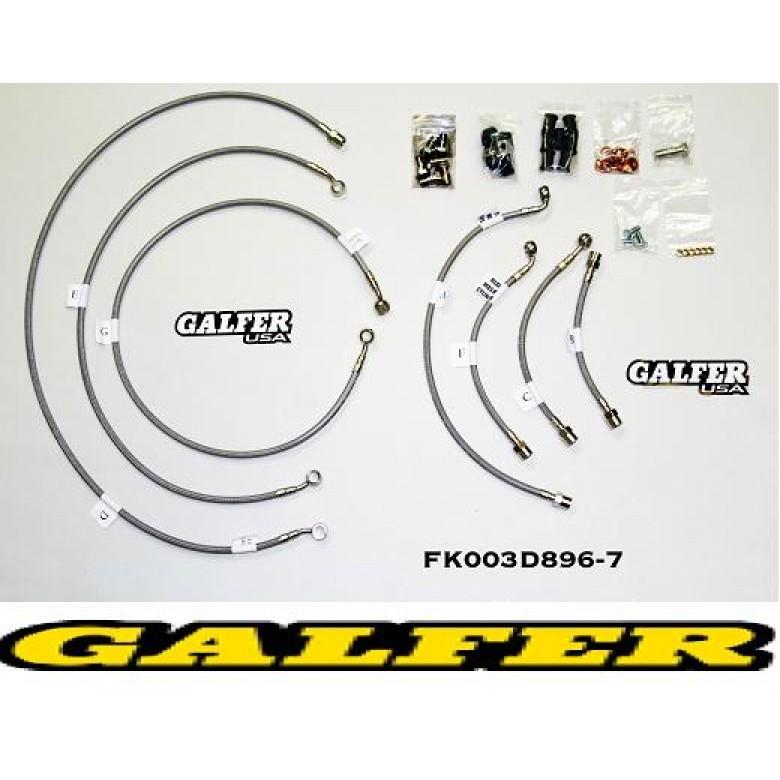 Galfer Brake Line System, CRF1000L AFRICA TWIN ABS (2016)