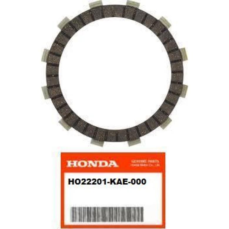 OEM HONDA CLUTCH - DISK, CLUTCH FRICTION ATC250R (85-86) ATC350X (85-86) CR125R (83-84) NX250 (88-90) TRX250R (86-89) TRX250X (87-92) VFR750R (1990) XR250L (91-96) XR250R (86-95)