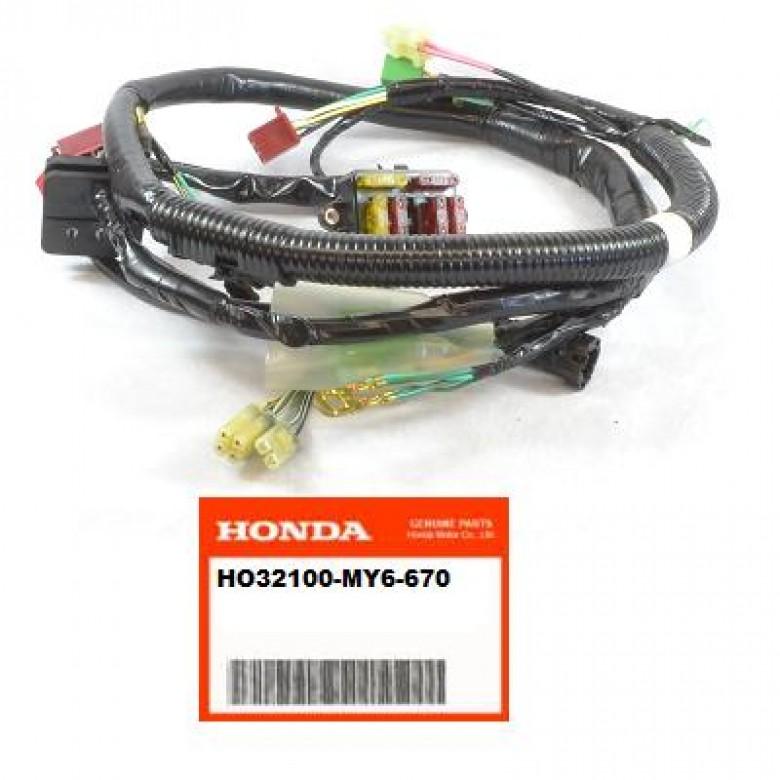 OEM Honda Wire Harness, XR650L (93-15)