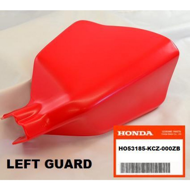 OEM Honda Plastic Hand Guard Left XR400R (96-04) XR250R (96-04)