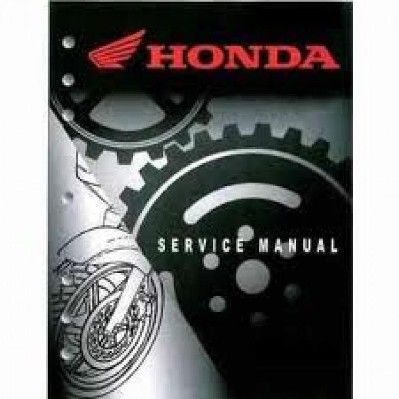 Honda OEM Factory Service Manual - Honda XR400R