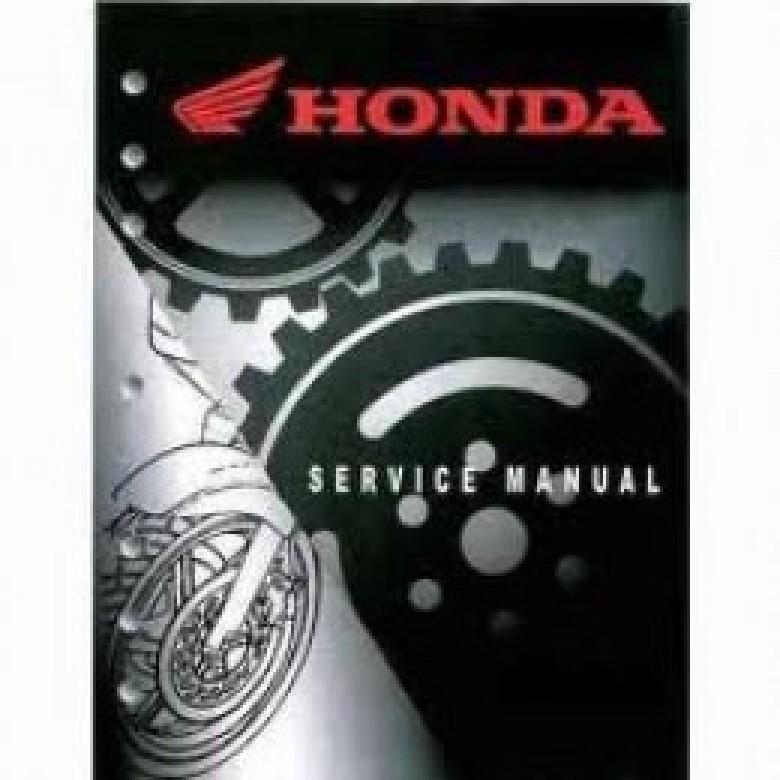 Honda OEM Factory Service Manual - Honda XR250R (1986-1995)