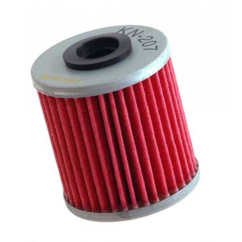 K&N Oil Filter - Kawasaki KX450F (2016), KX250F, KX250 / Suzuki RMZ250, RMZ450, RMX450Z (All Years)