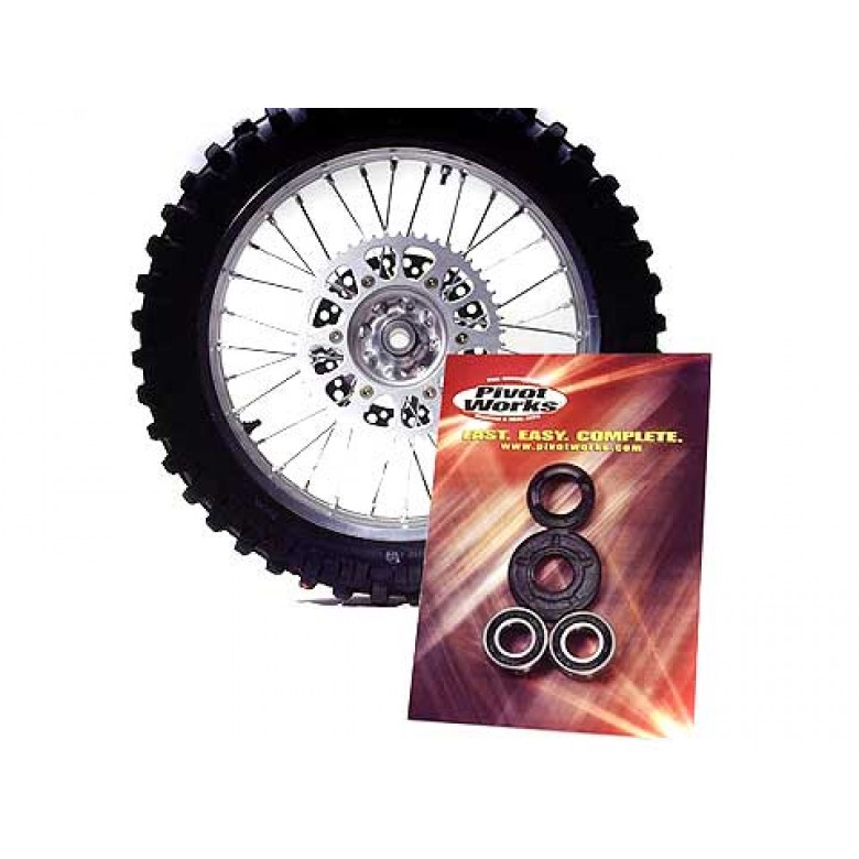 Pivot Works Front Wheel Bearing Kit - Honda CRF150F CRF230F