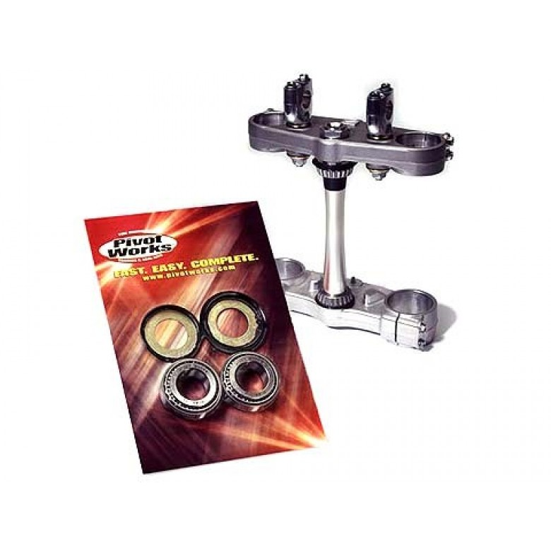 Pivot Works Steering Stem Bearing Kits - Honda TRX450ER (2006-2013) Honda TRX450R (2004-2009)