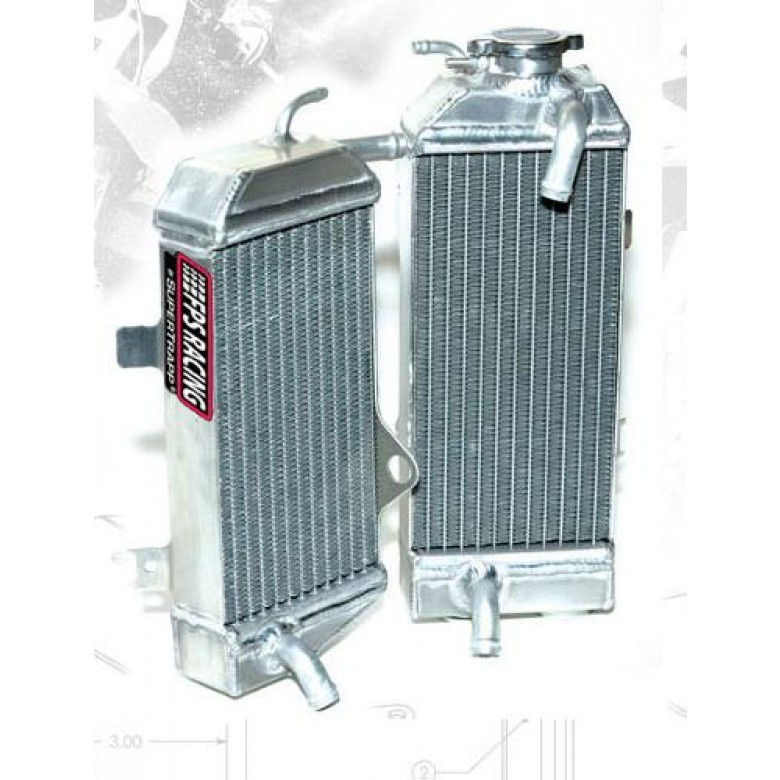 Fluidyne Powersports Performance Radiators - Honda XR650R
