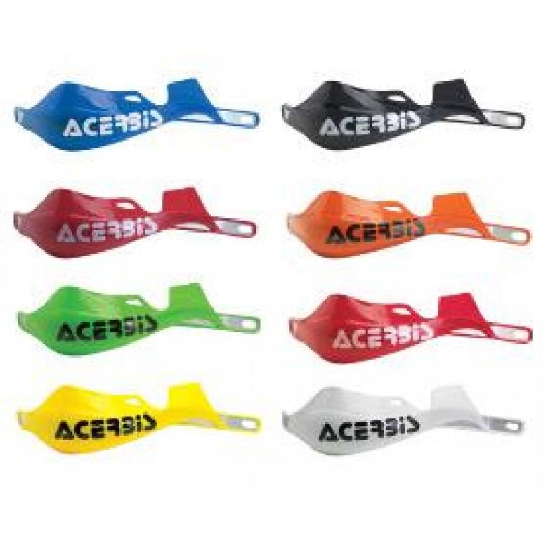 ACERBIS HANDGUARD RALLY PRO , BLACK, GREEN, WHITE, RED, YELLOW CR RED, ORANGE & BLUE
