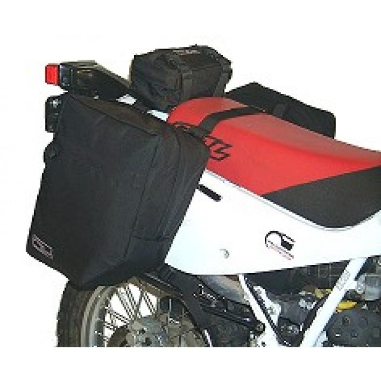DBZ PRODUCTS SCOUT SADDLE BAGS  CRF230L CRF250L XR400R XR600R XR650R XR650L CRF450X, KLX250, KLR250, KLR650