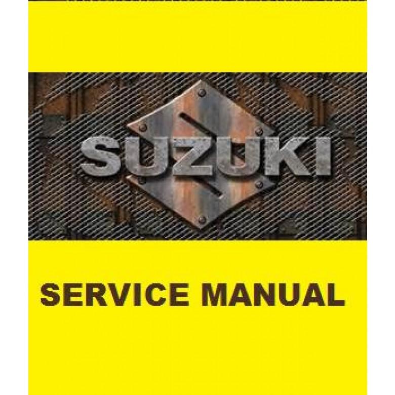 Suzuki OEM Genuine Service Manual - DR-Z125,  DR-Z125L (03-16)