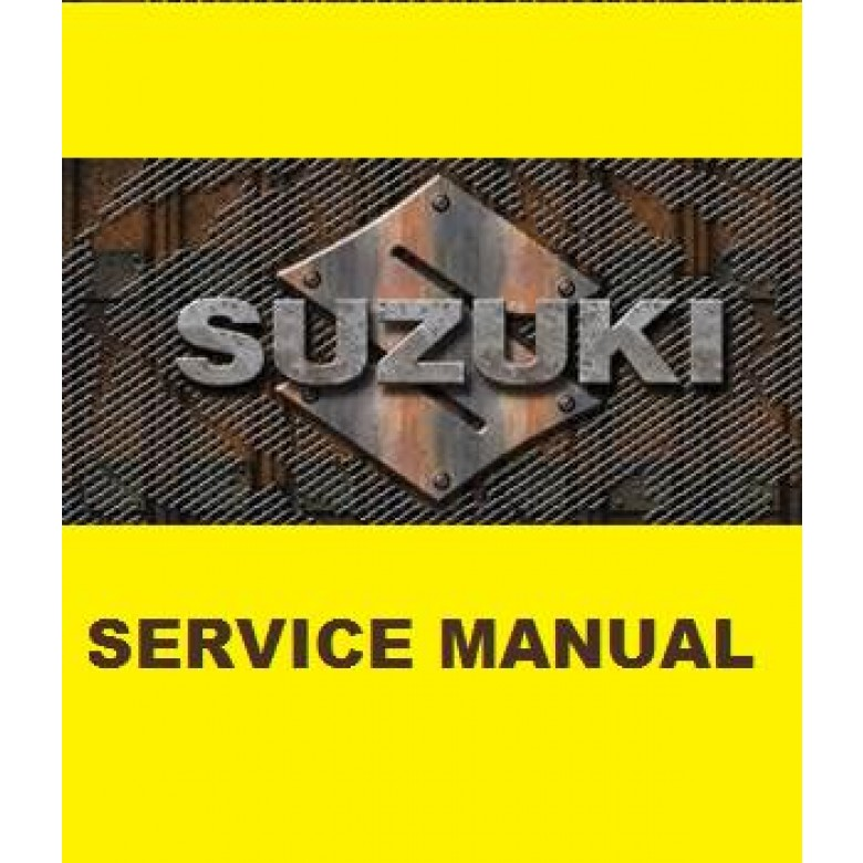 Suzuki OEM Genuine Service Manual - DR-Z70 (08-16)