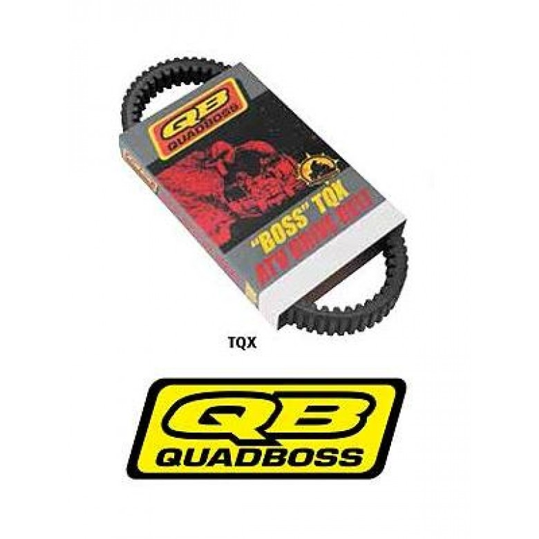 QuadBoss CVT Drive Belt TQX, Arctic Cat 650 V2, Kawasaki 650, 700, 750  Suzuki 700