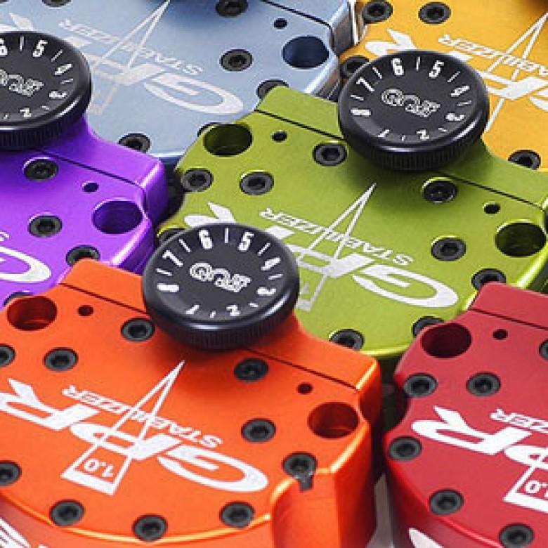 GPR Steering Stabilizer / Damper - Honda CR125R (02-06) CR250R (02-07)- V1 FAT BAR KIT